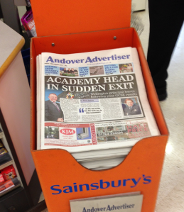 Andover Advertiser Sainsburys